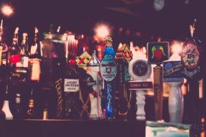 Craft beer selection at Cabo Fish Taco Restaurant